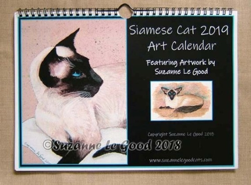 Suzanne Le Good 2019 calendar cover