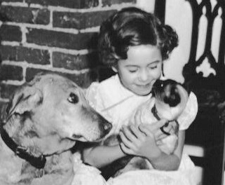 Young girl holding Siamese cat