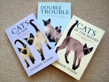 Some of Doreen Tovey's Siamese cat books